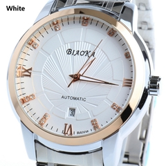 High Quality Waterproof Watches Men Full Stainless Steel Clear Mineral Glass  (Hot Product - 5*)