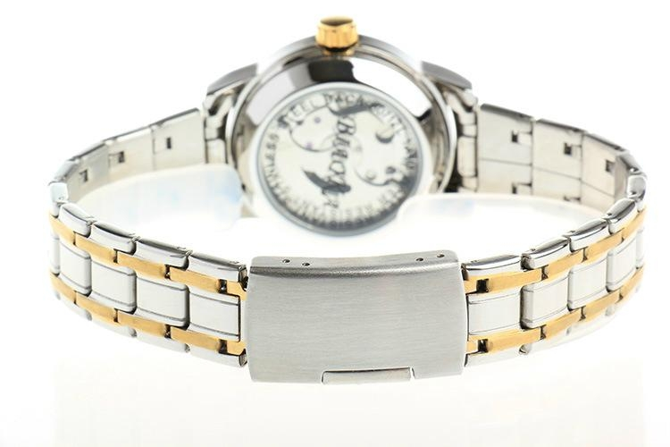 High Quality Waterproof Watches Women Full Stainless Steel Clear Mineral Glass 6