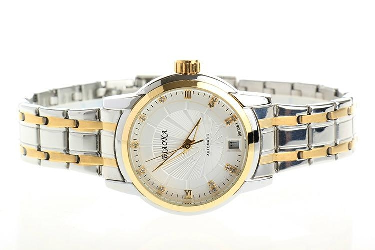 High Quality Waterproof Watches Women Full Stainless Steel Clear Mineral Glass 7