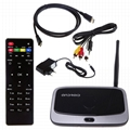 RK3188T Q7S Android 4.4 TV Box Quad core Wifi Media Player Full 1080P 2G/8GB Sup 10