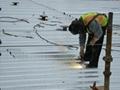 Steel Floor Decking Panel in Project