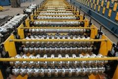 Corrugated GI Roofing Sheet Corrugation Machine For Sale