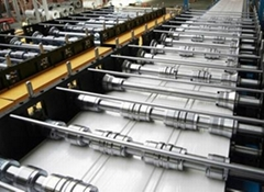 Aluminium Metral Roofing Sheet Roll Forming Machine For Sale
