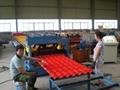 Aluminium Metcopo Roofing Tile Corrugating Machine For Sale