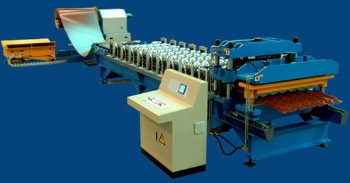 Aluminium Step Tiles Corrugating Machine For Sale China