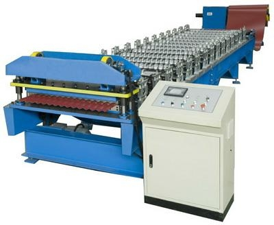 Corrugated Profile (s-rib) Roofing Sheet Roll Forming Machine For Sale
