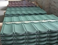 Stone Chip Coated Steel Roof Tiles And Flashing For Sale