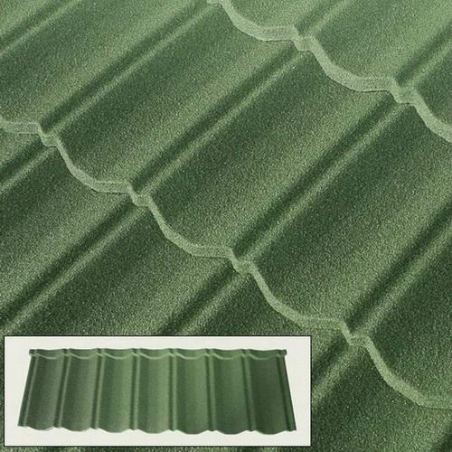 Colour Stone Coated Steel Roof Tiles For Sale