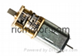 3V Miniature DC GearBox Motor