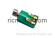 small Vibration motor  Pager motor 1.5V 3V