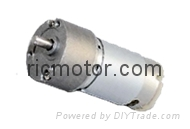 Small geared motor Low speed with high torque 12V 24V