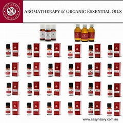 aromatherapy and organic essential oils
