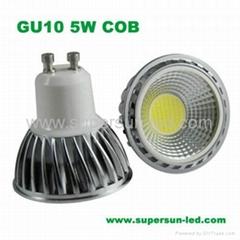 Gu10 5w cob
