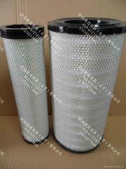 High-performance oil filter element