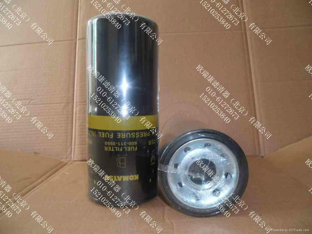 KOMSTSU HIGH-PERFORMANCE SPIN FUEL FILTER 600-319-3550 Suitable for  excvavtor ...