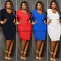 Women's Plus Size Cape Dress