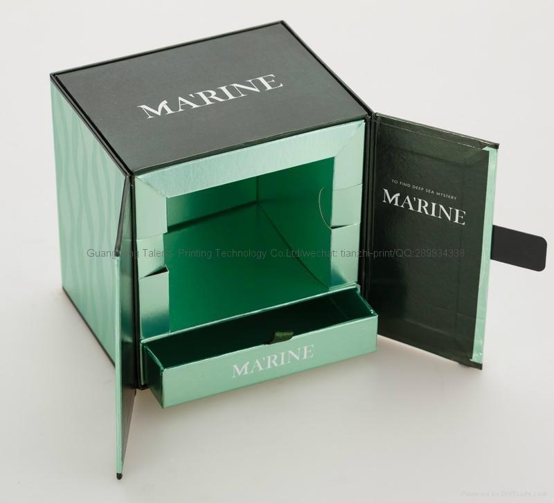 紫外線上光油處理化妝品包裝盒 3