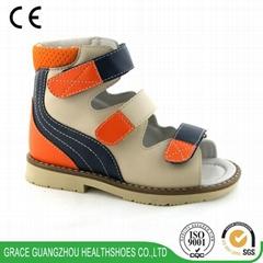 leather kids Shoes Ortho
