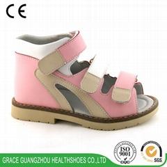 Children health sandal  5mm more depth kids stability shoes