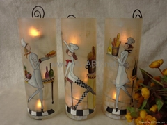 Hand painted glass Crafts