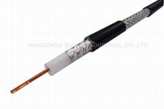 coaxial cable RG6, F660BV, F690BV, F660BVM, F6TSV tri shield, quad shield