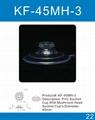 22mm-80mm透明蘑菇头pvc吸盘 2