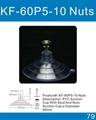 厂家直销带螺丝螺帽吸盘环保透明