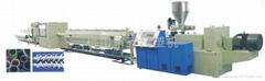 PVC雙管擠出生產線