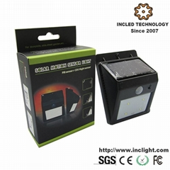 Outdoor Solar Motion Sensor LED Automatic Light