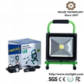 30W 5hrs Portable Rechargeable LED Flood