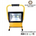High Power 100W Rechargeable LED Flood