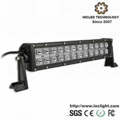 72W Cree led off road light bar