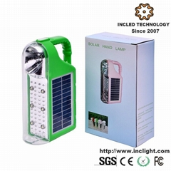 6+1 solar led camping lantern emergency light
