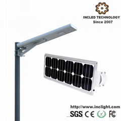 20W 10hours Integrated All in One Solar LED Street Light