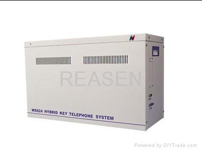 赛纳WS824数字集团电话 1