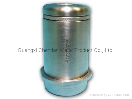 Tungsten Vial Shield with Magnetic Cap