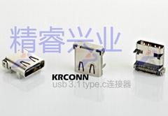 厂家直销 type.c usb连接器