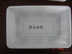 Disposable PP Blister Plastic Food Container