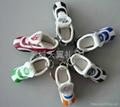 仿真迷你足球鞋子钥匙扣