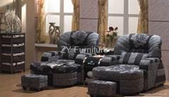 Foot massage sofa