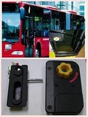 BUS DOOR LOCK Low floor city bus passenger door lock