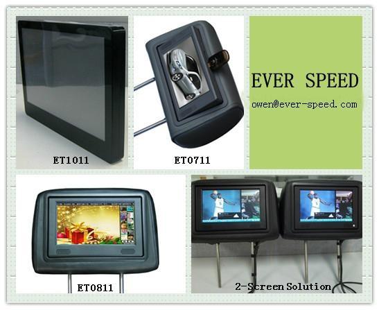 出租車液晶3G廣告機 2