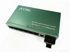 一光七电光纤交换机 1光7电光纤收发器