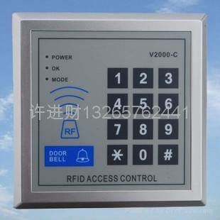 門禁刷卡一體機密碼鍵盤V2000C 1