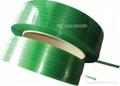 PET綠色透明塑鋼帶 1