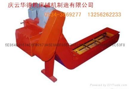 機床刮板式排屑機 4