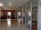 Guangzhou office toughened glass is cut off