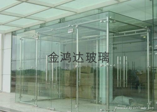 Guangzhou the laminated glass 1