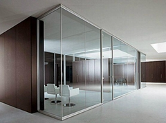 鋁合金玻璃門窗隔斷