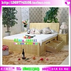 巧克力方块Chocolate Box 纯实木卧室家具